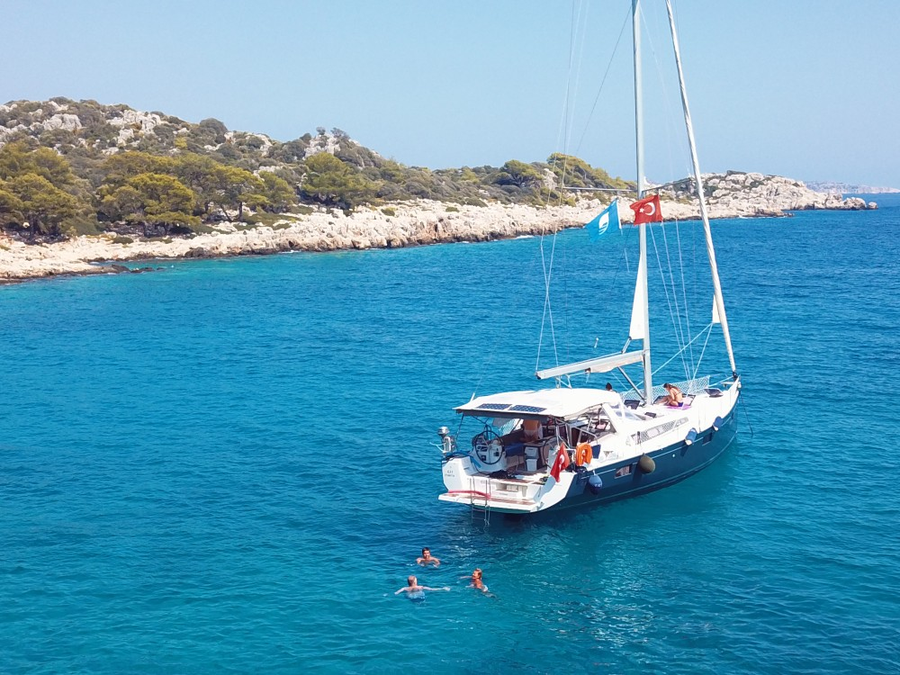 Kas sailing tours