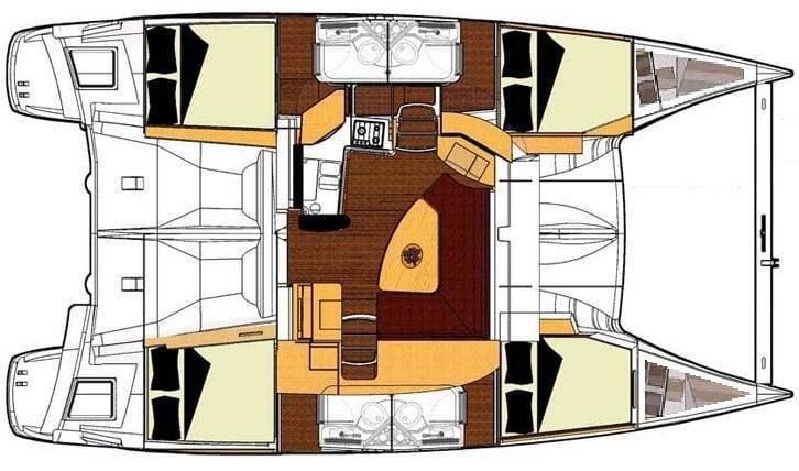 Catamaran rental kas